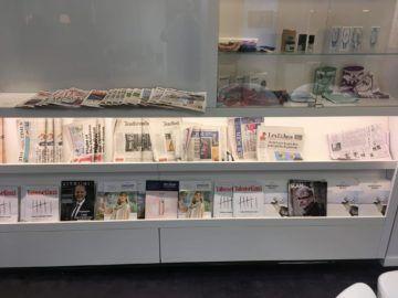 finnair lounge helsinki zeitschriften
