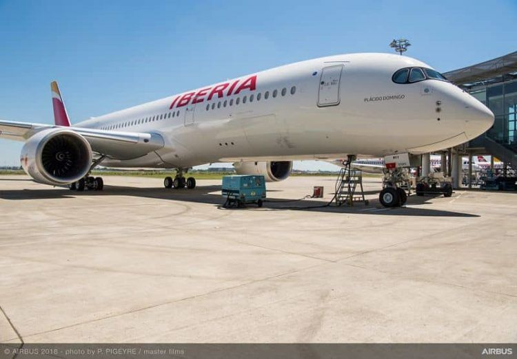 first a350 900 delivery to iberia ceremony 042