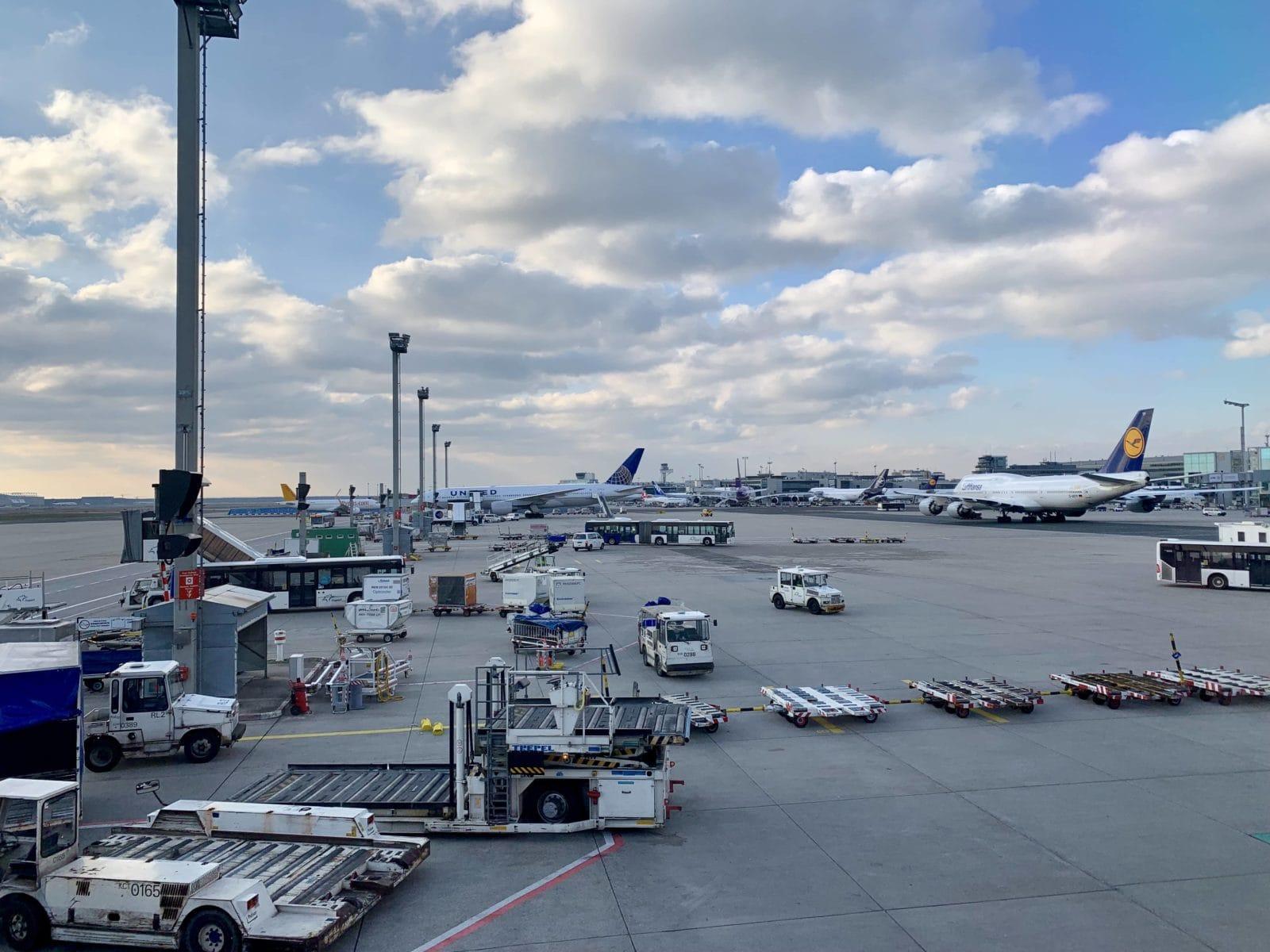 Frankfurt Flughafen Ankunft Heute