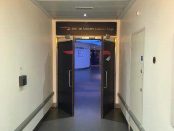 galleriesclub lounge britishairways londonheathrow eingangsbereich