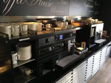 galleriesclub lounge britishairways londonheathrow kaffeemaschine