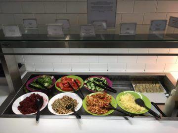 galleriesclub lounge britishairways londonheathrow salat beilagen