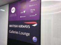 galleriesclub lounge britishairways londonheathrow schild