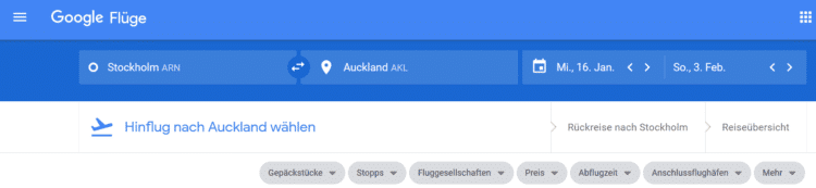 google flights kurzanleitung 1