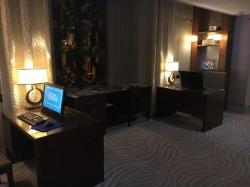 hilton budapest executive lounge business center