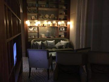 hilton budapest executive lounge sitzecke