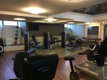 hilton budapest fitness 3