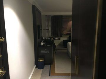 hilton budapest twin executive room eingang