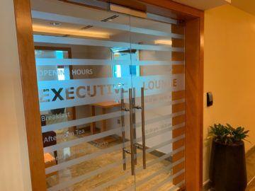 hilton doha executive lounge tuer