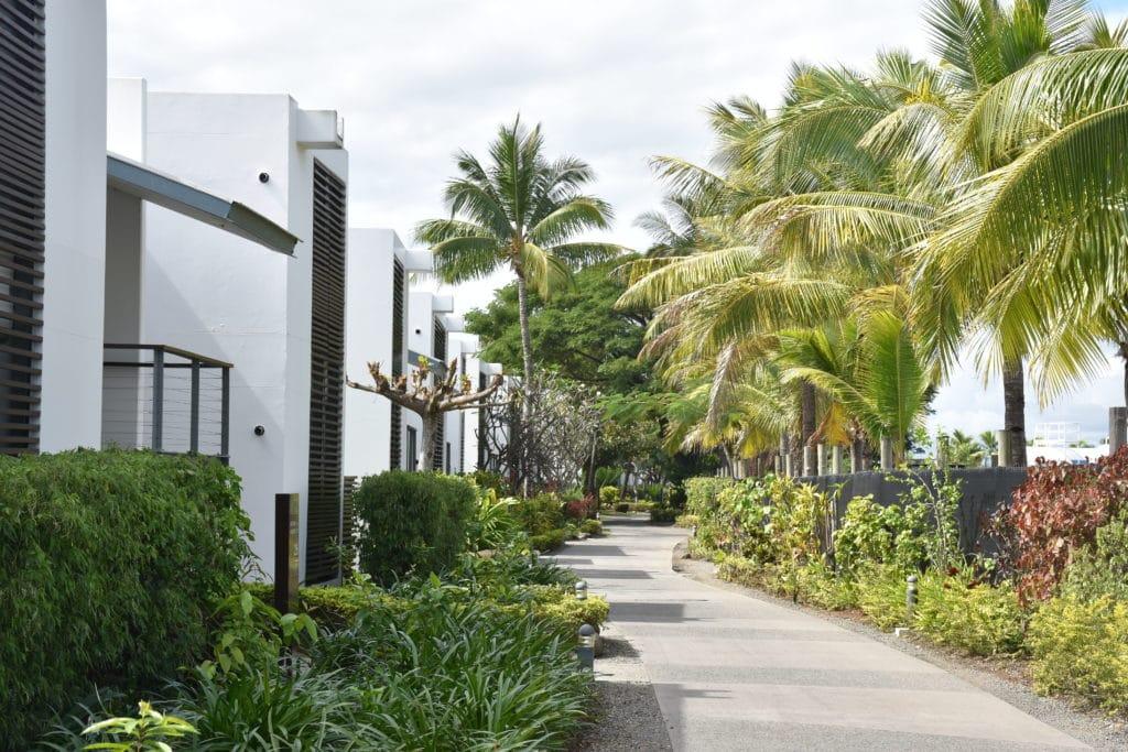 Hilton-Fiji-Resort-Aufbau