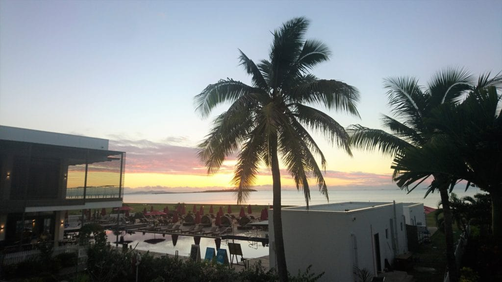 Hilton Fiji Zimmerausblick