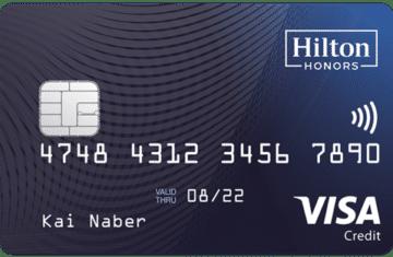 10.000 Hilton Punkte mit der Hilton Kreditkarte