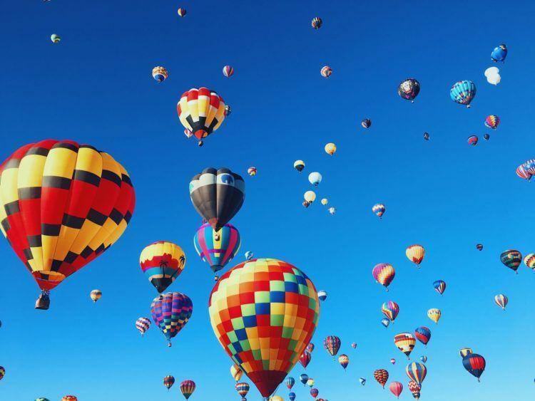 hot air ballon unsplash