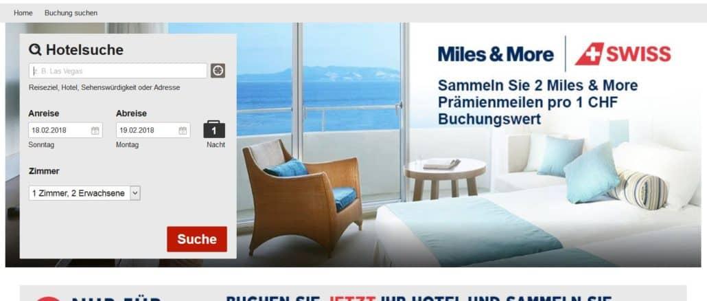 hotels com miles and more meilen sammeln