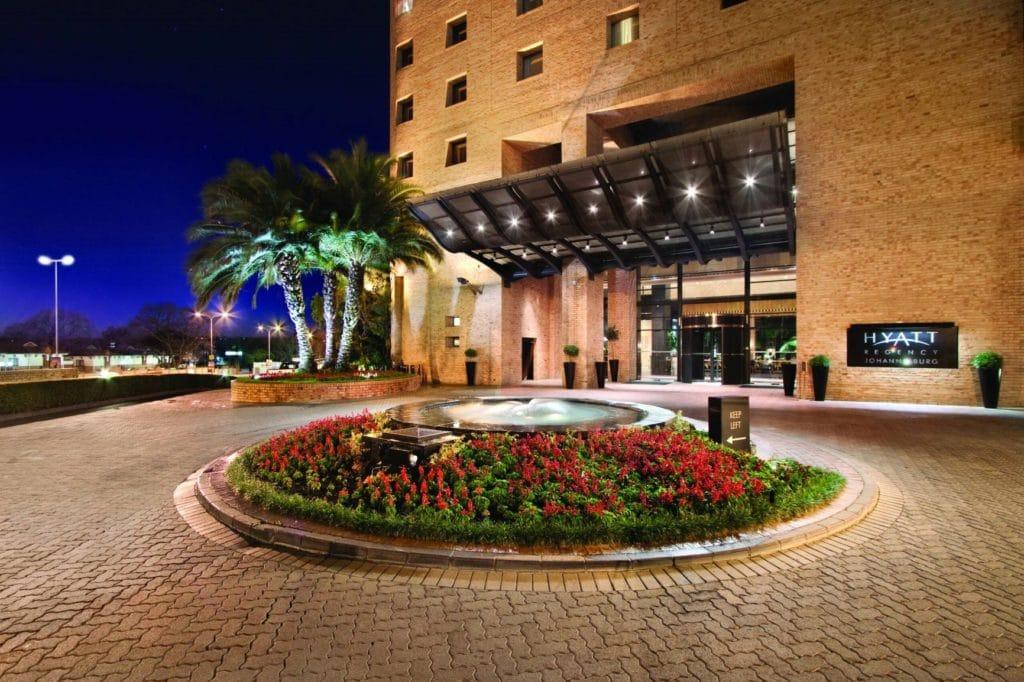 Das Hyatt Regency Johannesburg gehört zur Hyatt Kategorie 2 © Hyatt