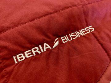 iberia business class a340 600 bettdecke