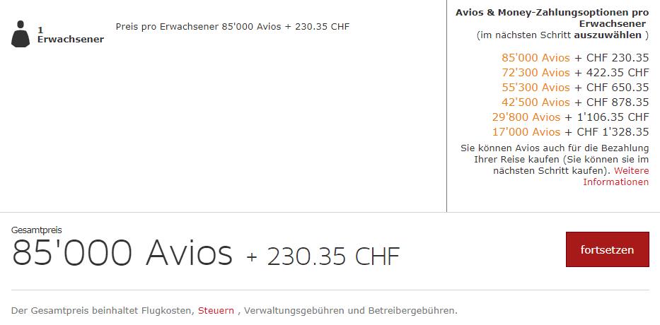 Iberia Plus Prämienflugbuchung Madrid - Lima