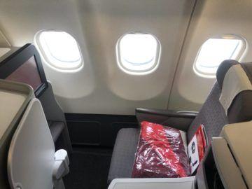 iberia business class a340 600 einzelsitz fenster 1