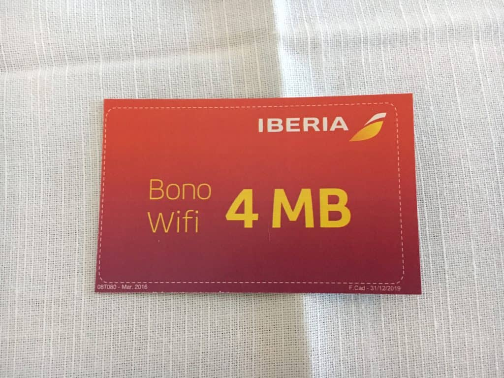 Iberia 4MB WiFi Gutschein
