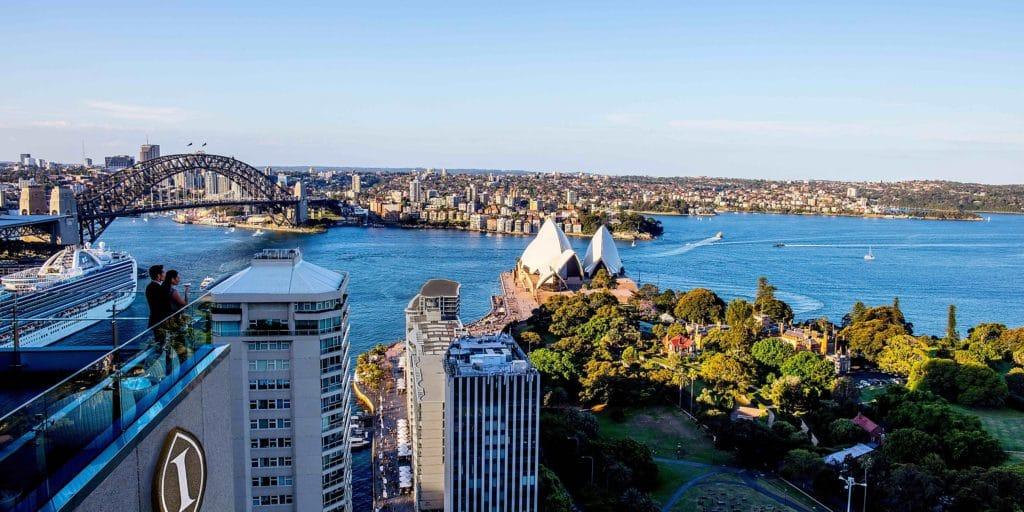InterContinental Sydney Ausblick IHG Punkte einlösen