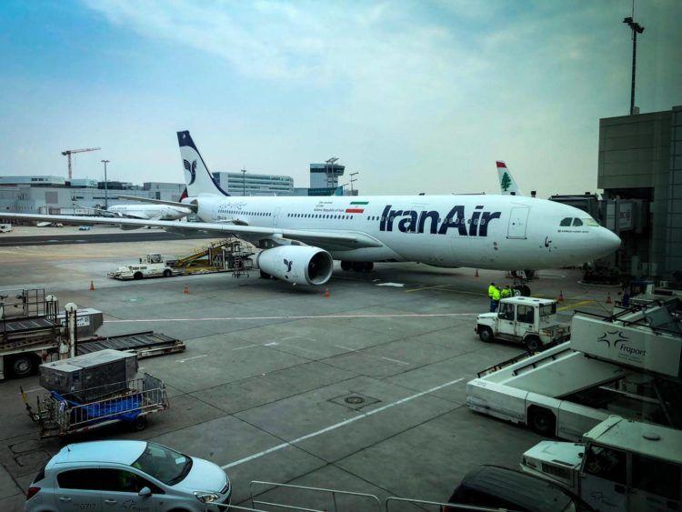 iranair airbus a330 flugzeug