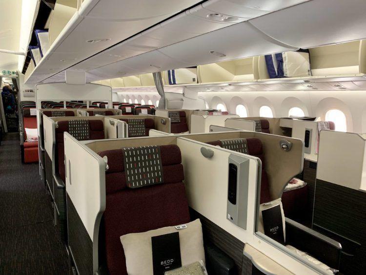 jal business class sky suite 787 8 kabine 1