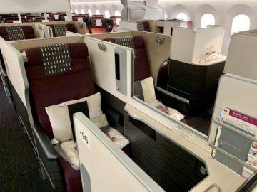 jal business class sky suite 787 8 sitz 1