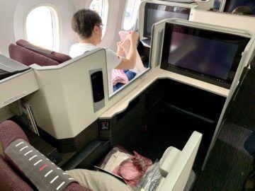 jal business class sky suite 787 8 sitz 3