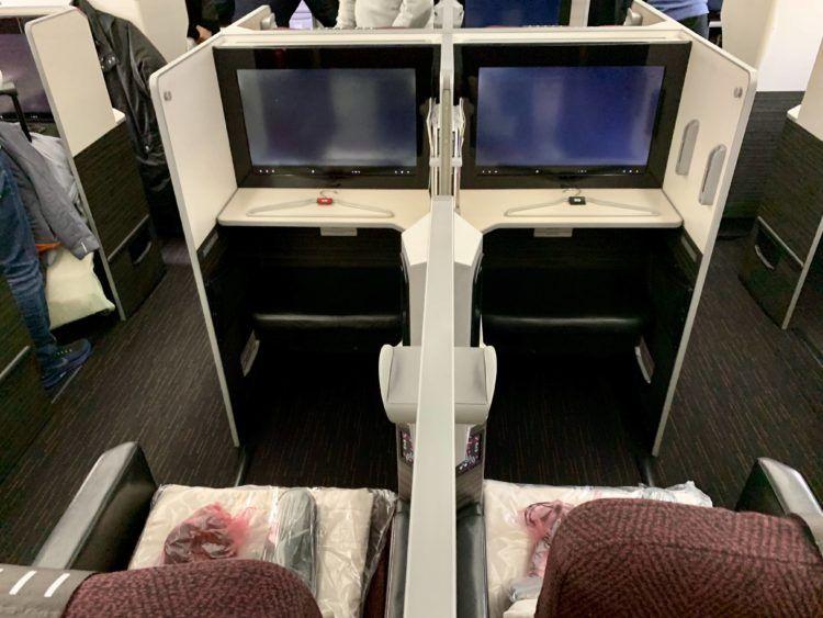 jal business class sky suite 787 8 sitz 7