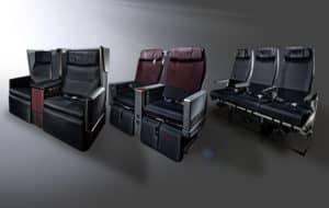 japan airlines a350 900 kabinenprodukte