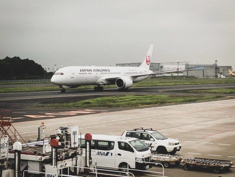 japan airlines flugzeug