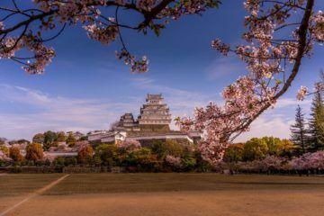 japan city himeji castle