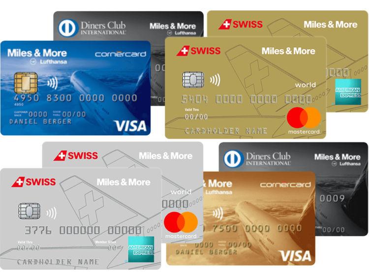 kreditkarten meilen sammeln schweiz