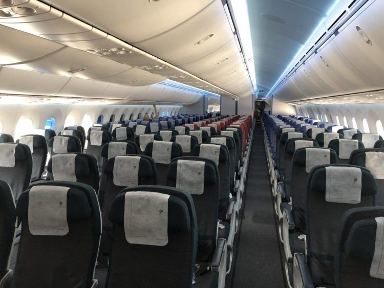 latam business class boeing 787 9 economy class