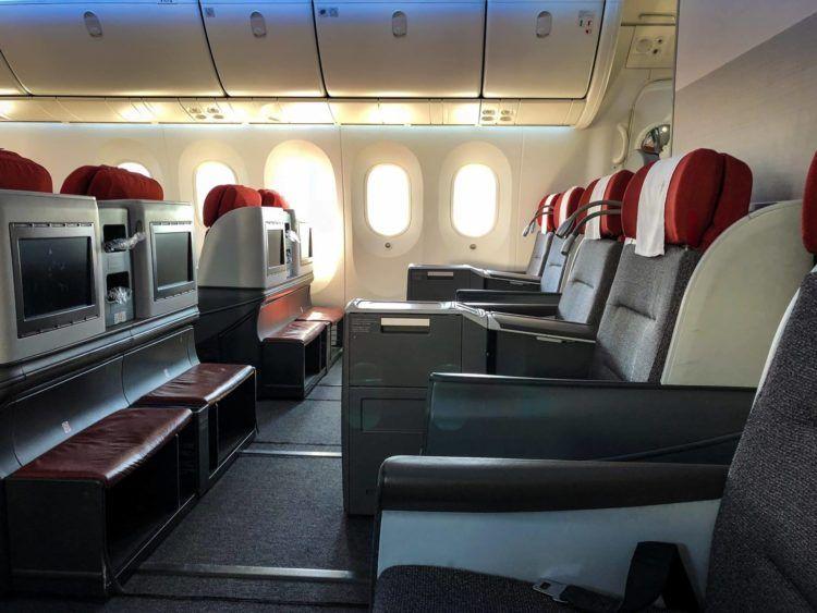 latam business class boeing 787 9 letzte sitzreihe