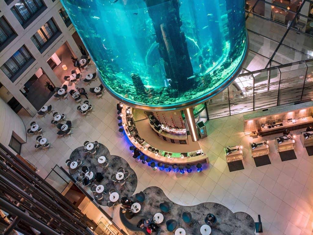 lobby new of the radisson blu berlin hotel