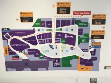 londonheathrow map terminal3