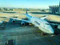 lufthansa boeing 747 8 flugzeug frankfurt