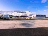 lufthansa boeing 747 8 flugzeug frankfurt airport