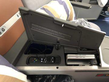 lufthansa business class a350 controller kopfhoerer