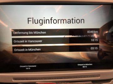 Fluginformation Lufthansa