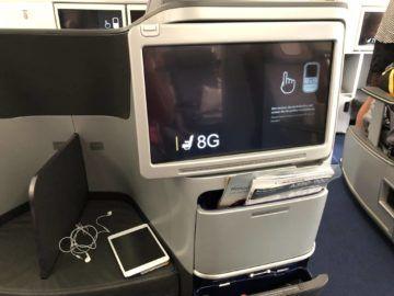lufthansa business class a350 monitor magazine