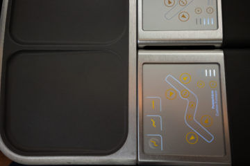 lufthansa business class airbus 350 einstellung sitz