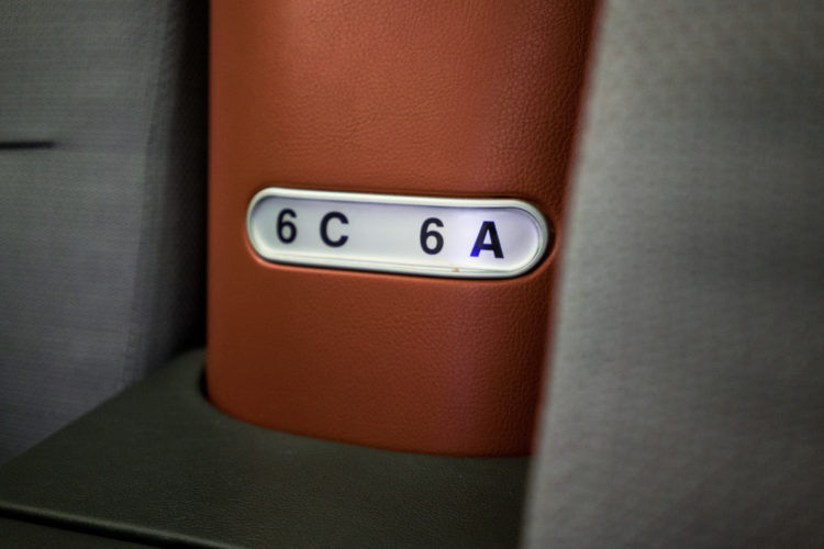 lufthansa business class airbus 350 sitznummer