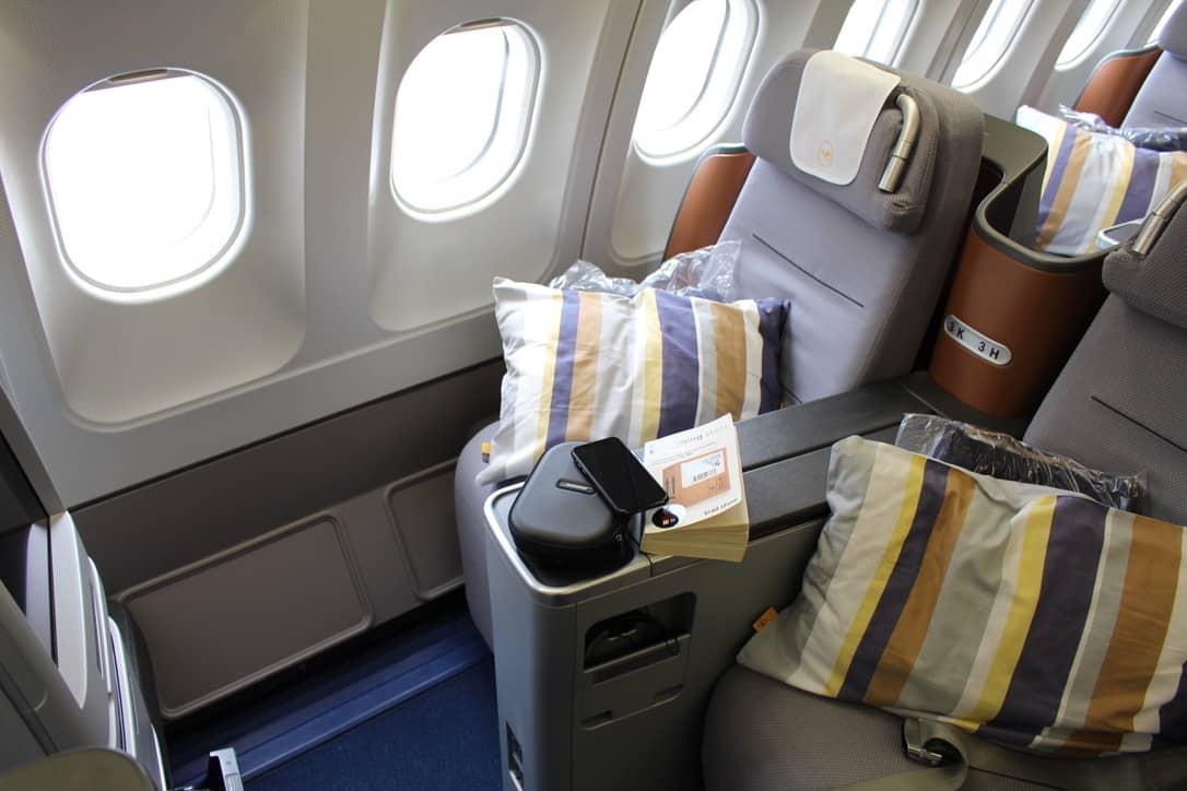 Lh Business Class Flug Langstrecke Fur 800 Miles More Tutorial