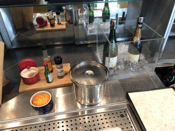 lufthansa business lounge bremen champagner