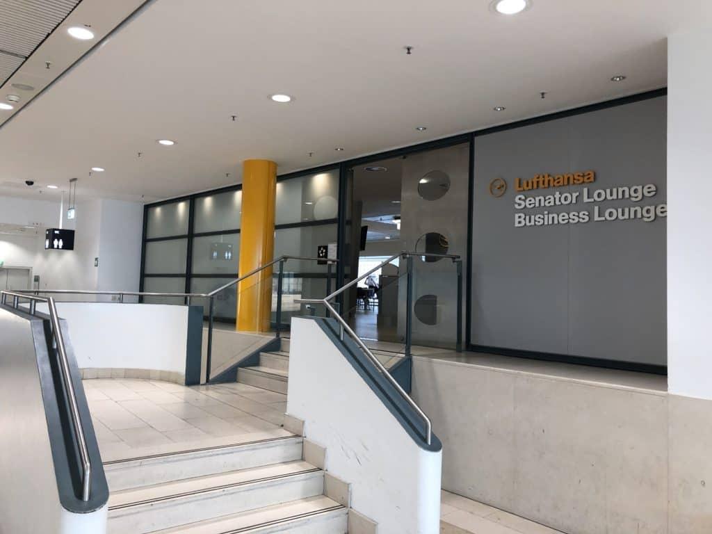 Lufthansa Business Lounge Bremen Eingangsbereich