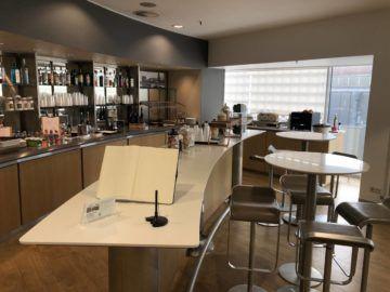 lufthansa business lounge bremen buffetbereich