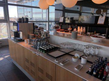 lufthansa business lounge frankfurt a26 buffet