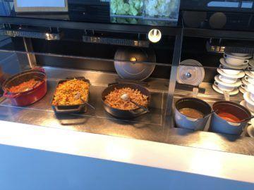 lufthansa business lounge frankfurt a26 pasta